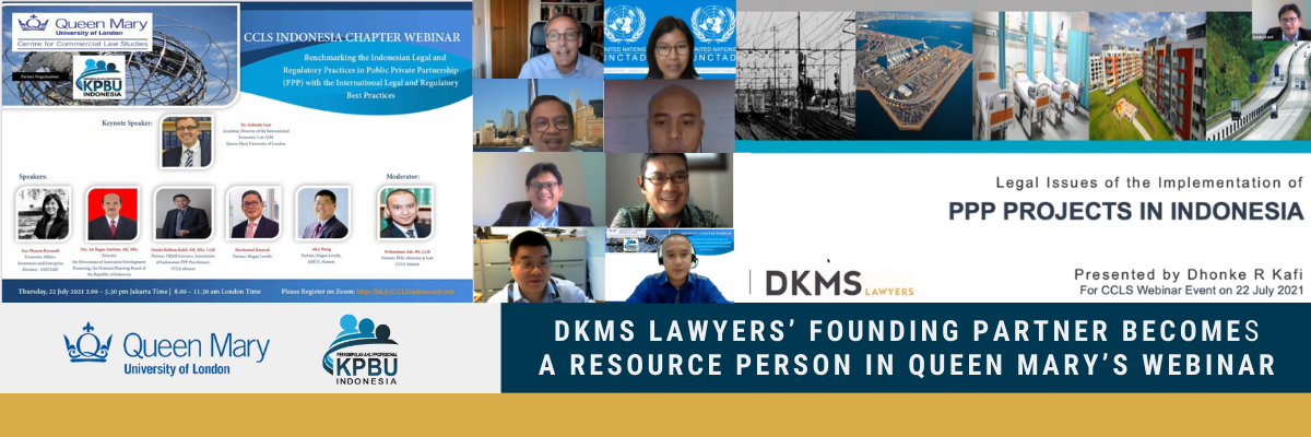 DKMS Lawyers' Founding Partner becomes a Resource Person in Queen Mary's Webinar