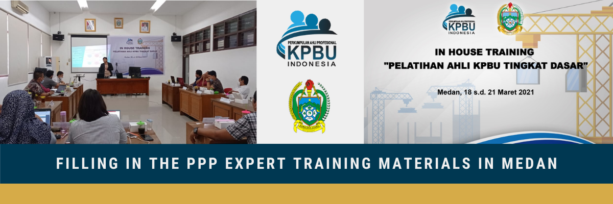 Filling in the PPP Expert Training Materials in Medan