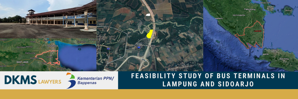 Feasibility Study of Bus Terminals in Lampung and Sidoarjo